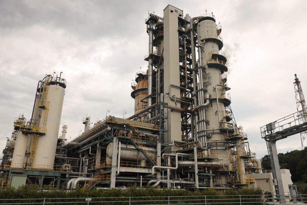 太陽石油四国事業所 石油工場プラント