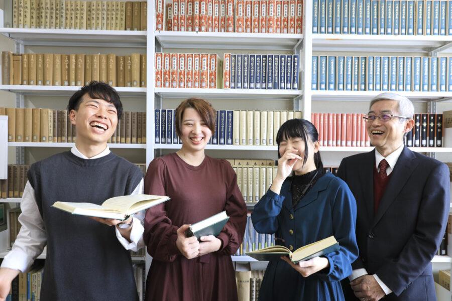 愛媛大学日本文学研究室様WEBサイト用素材撮影